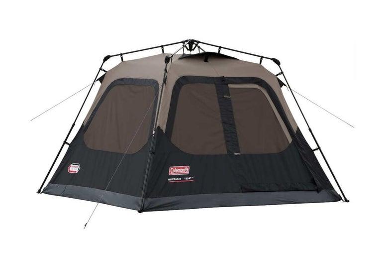 Coleman Four-Person Instant Tent.