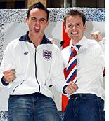 Ant and Dec are on the ball
