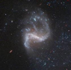 Smaller galaxy near NGC 1309