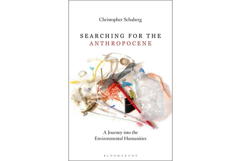 Book cover of Searching for the Anthropocene.