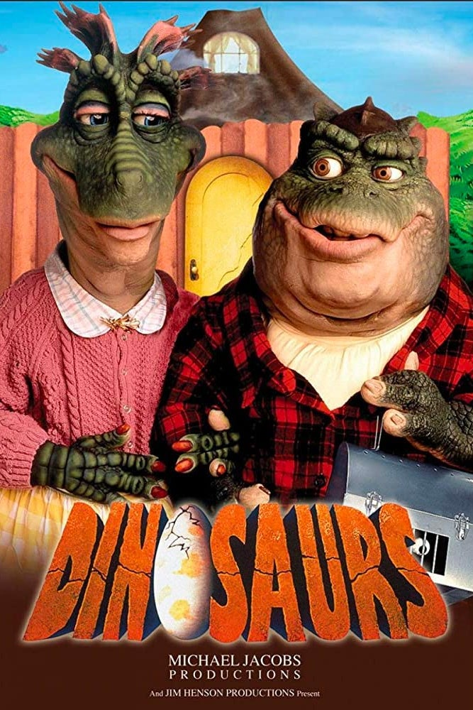 A poster for Dinosaurs.