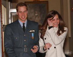 Prince William and Kate Middleton. Click image to expand.