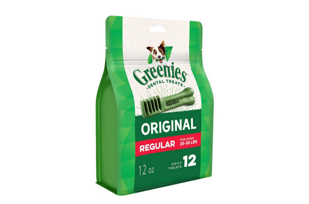 Greenies Original Dog Dental Chews.