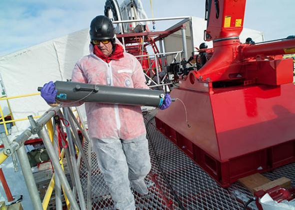 Antarctica: Sub-Glacial Lake Whillans 2012-2013