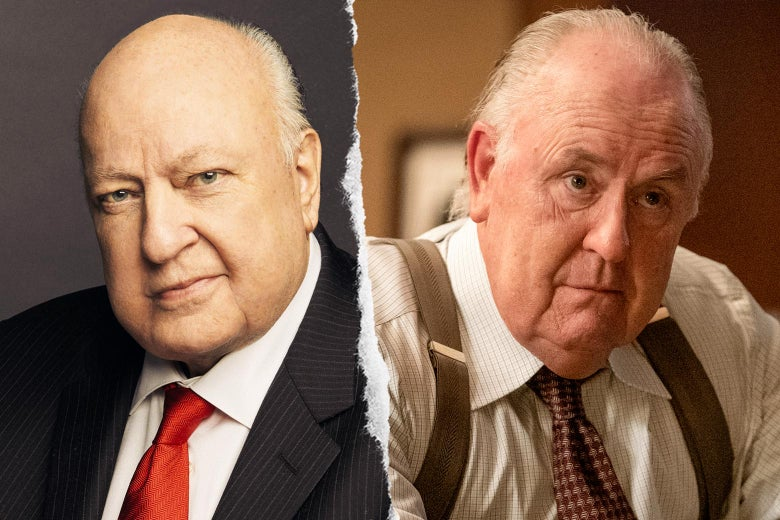 Roger Ailes, and John Lithgow as Roger Ailes