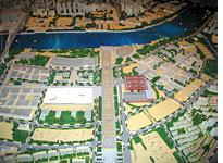 A model of the Shanghai 2010 World Expo site. Click image to expand.