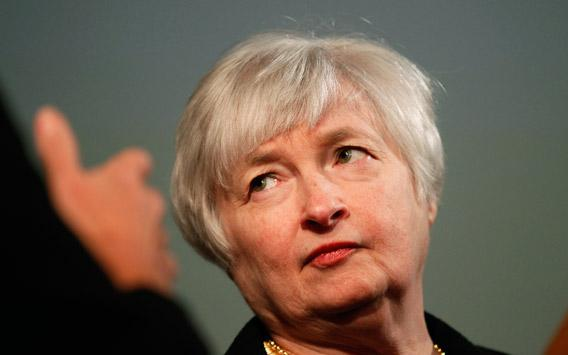 Janet Yellen, vice chair of the Board of Governors of the U.S. Federal Reserve System, is shown prior to addressing the University of California Berkeley Haas School of Business in Berkeley, California November 13, 2012.
