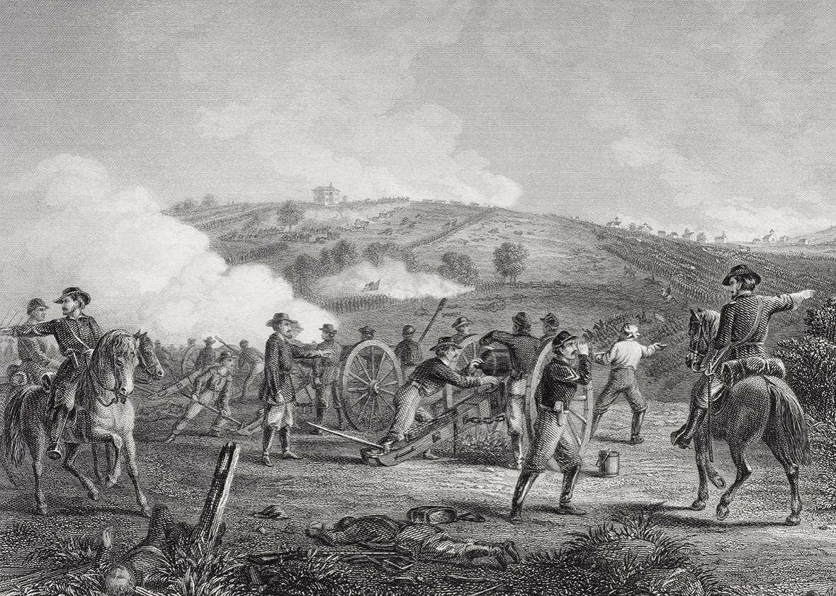 Battle of Gettysburg Pennsylvania 1863.