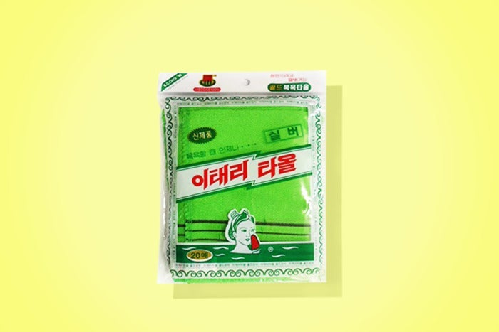 Genuine Korean Exfoliating Scrub Bath Mitten