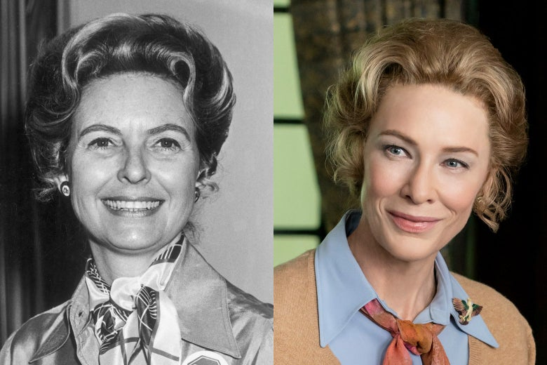Phyllis Schlafly and Cate Blanchett.
