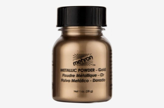 Mehron Makeup Metallic Powder.