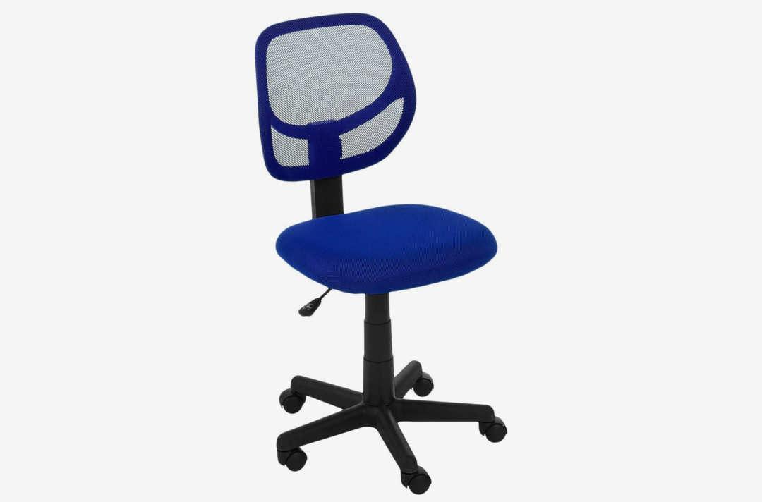 AmazonBasics Low-Back Computer Chair.