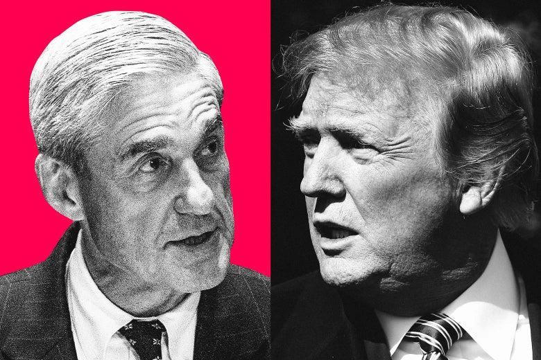 Robert Mueller, Donald Trump.