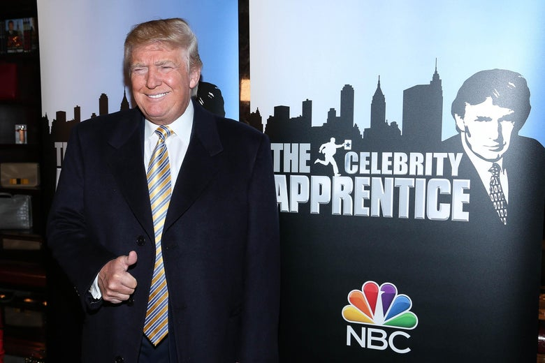 Donald Trump attends Celebrity Apprentice Red Carpet Event at Trump Tower on January 20, 2015 in New York City.