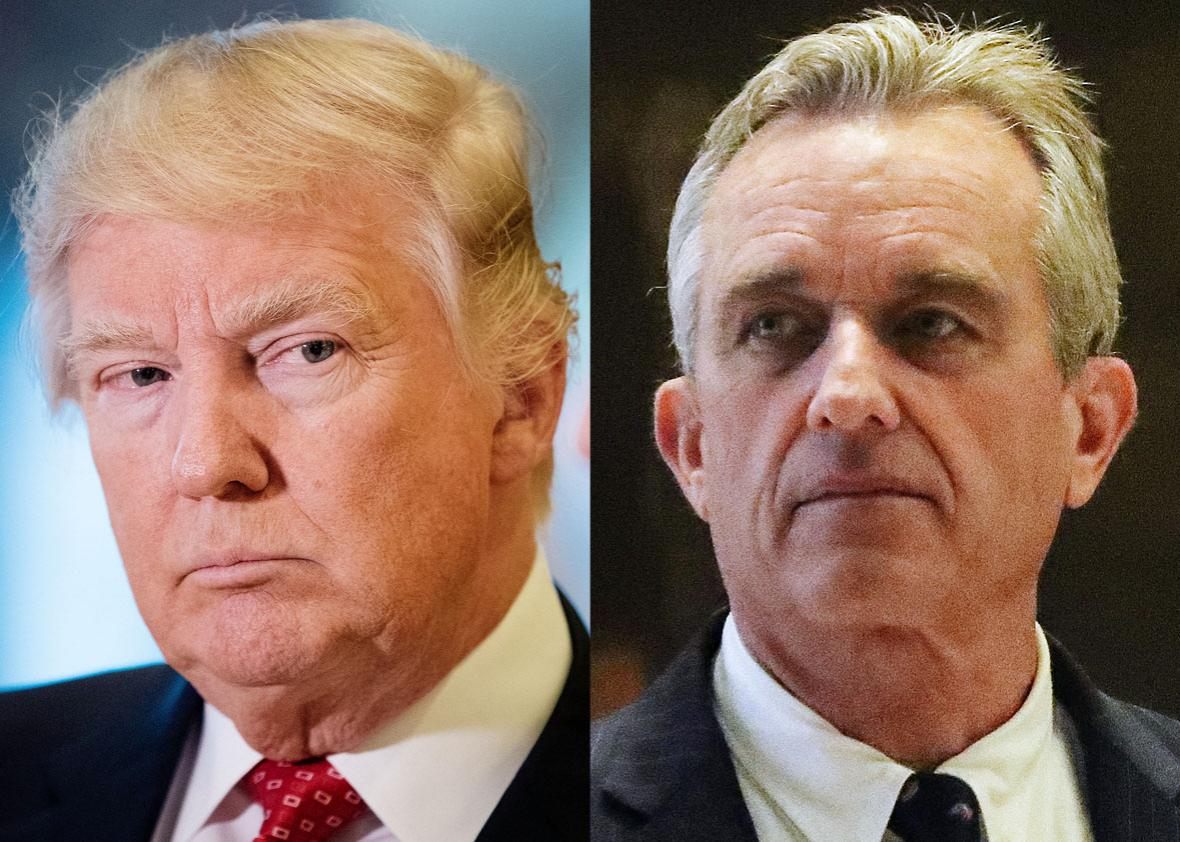 Trump Meets With Vaccine Skeptic >> What Unites Trump And Rfk Jr Is A Scary Denial That They Re Anti