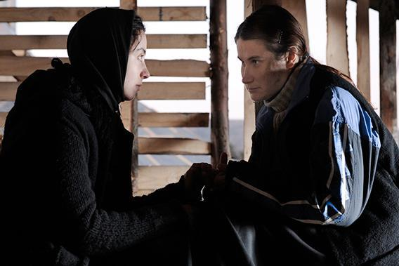 """Cosmina Stratan (left) and Cristina Flutur in """"Beyond the Hills"""""""