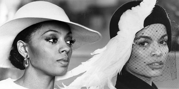 Diana Ross, Bianca Jagger