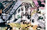 """The words """"Style Wars"""" in graffiti"""