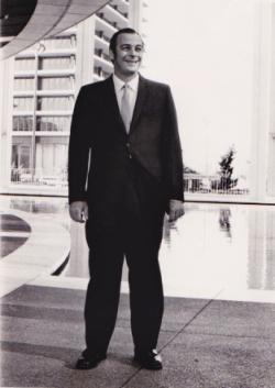 David Ward, late 1960s