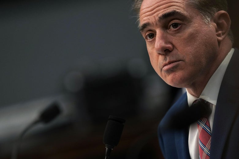 David Shulkin testifies during a hearing before the Military Construction, Veterans Affairs, and Related Agencies Subcommittee of House Appropriations Committee March 15, 2018 on Capitol Hill in Washington, D.C.