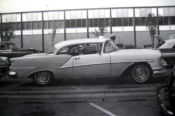 A 1954 Oldsmobile 98 Holiday in 1972.