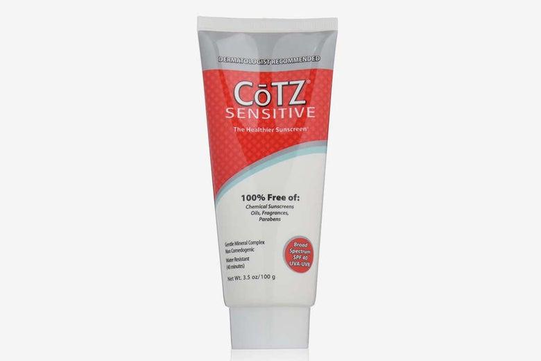 CoTZ SPF 40 UVB/UVA Sunscreen.