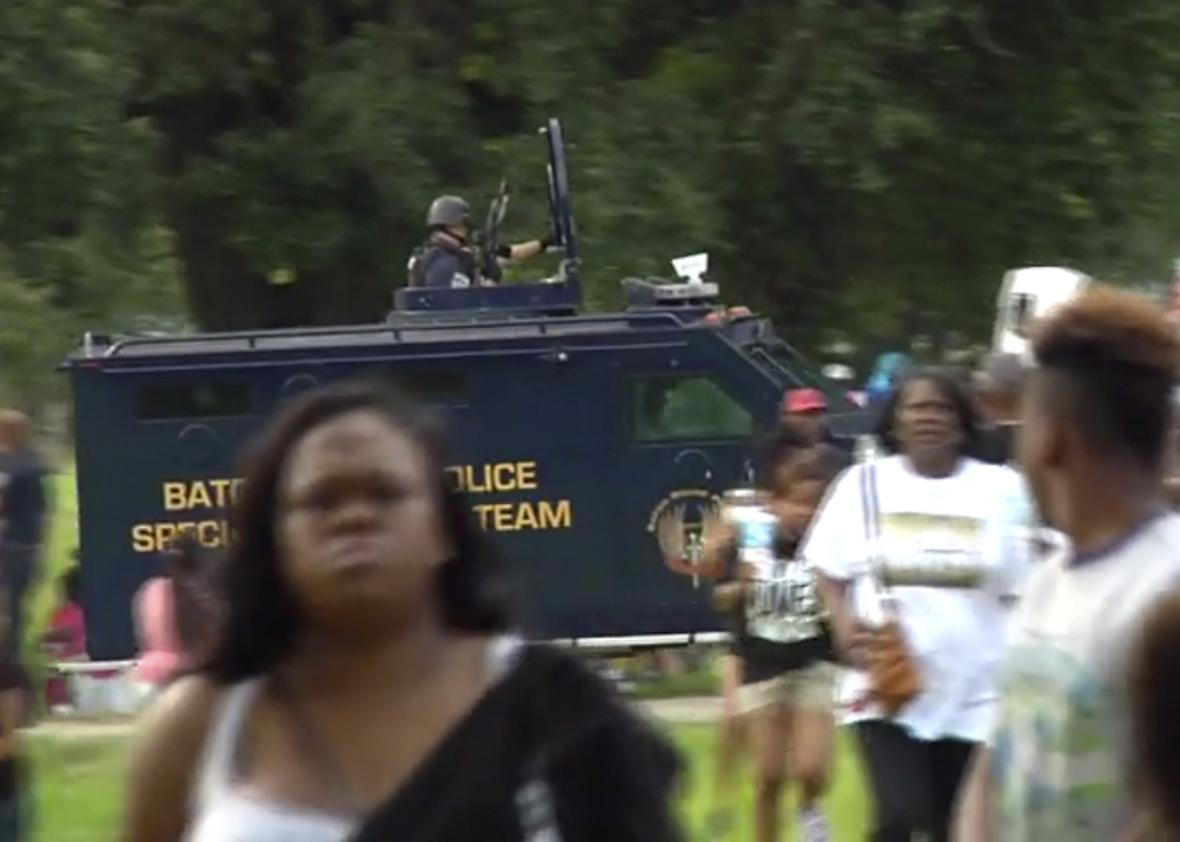 racial violence on tv.
