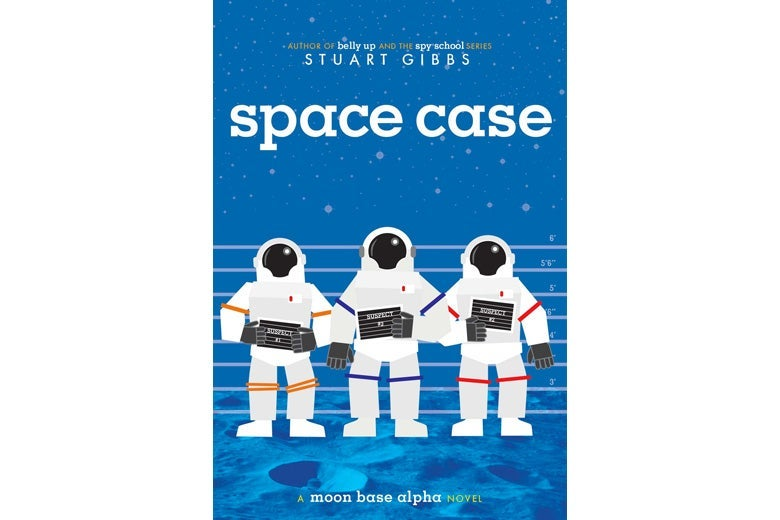 Space Case by Stuart Gibbs.