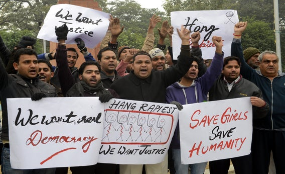 In India, men are beginning to protest rape.