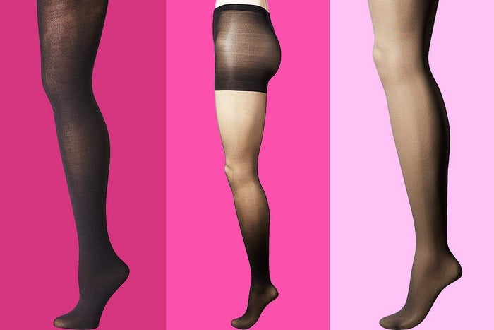 A few different drugstore tights