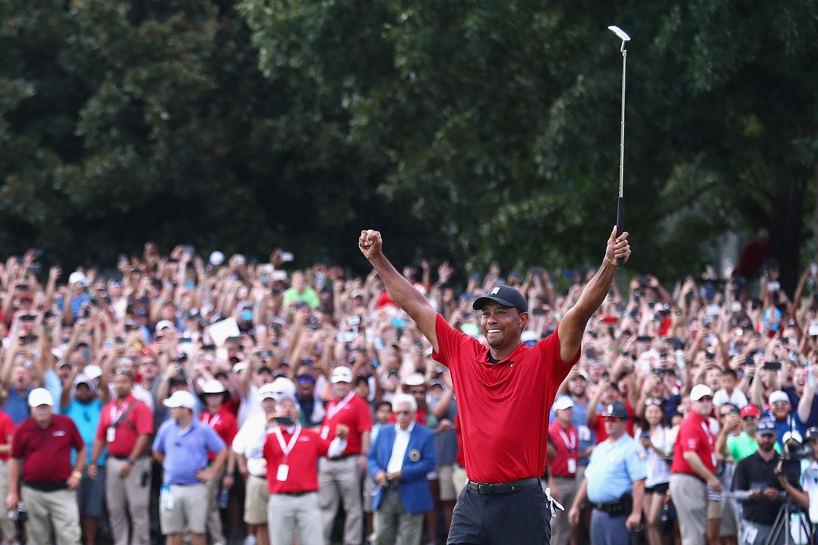 slate.com - Jim Newell - With His First Win in Five Years, Tiger Woods Just Capped Maybe the Greatest Comeback in Sports