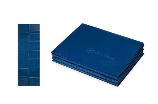 Gaiam foldable yoga mats.