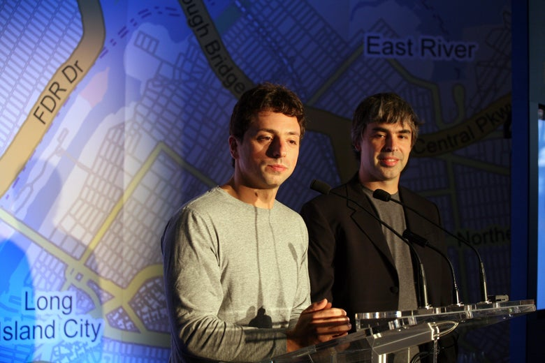 Google's Co-Founders, Who Have Been Disappearing From the Company for Years, Are Stepping Down