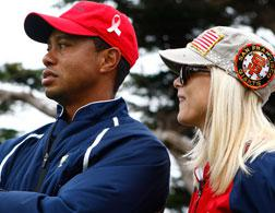 Tiger and Elin Woods. Click image to expand.