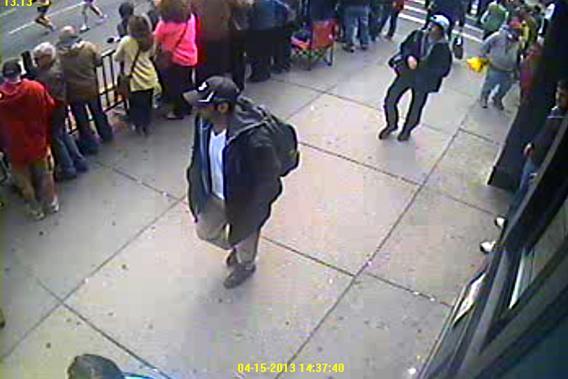 Boston Marathon Bombing Suspects 1 and 2