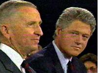 Debater Bill Clinton poses for the camera. Click image to expand.
