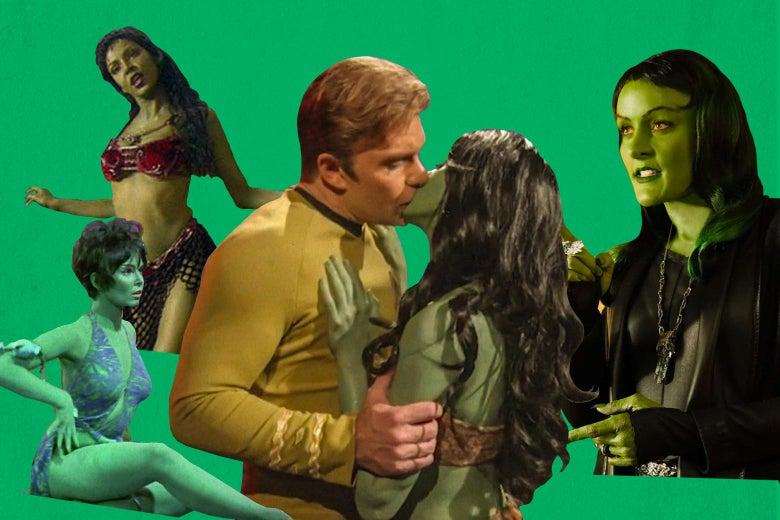 How Star Trek Redeemed a Race of Sexy Alien Slaves