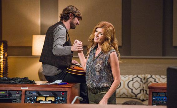 Michael Huisman and Connie Britton in ABC's Nashville.