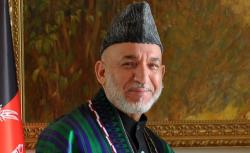 Hamid Karzai.
