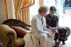 "Matt Damon and Michael Douglas in HBO's ""Behind the Candelabra"""