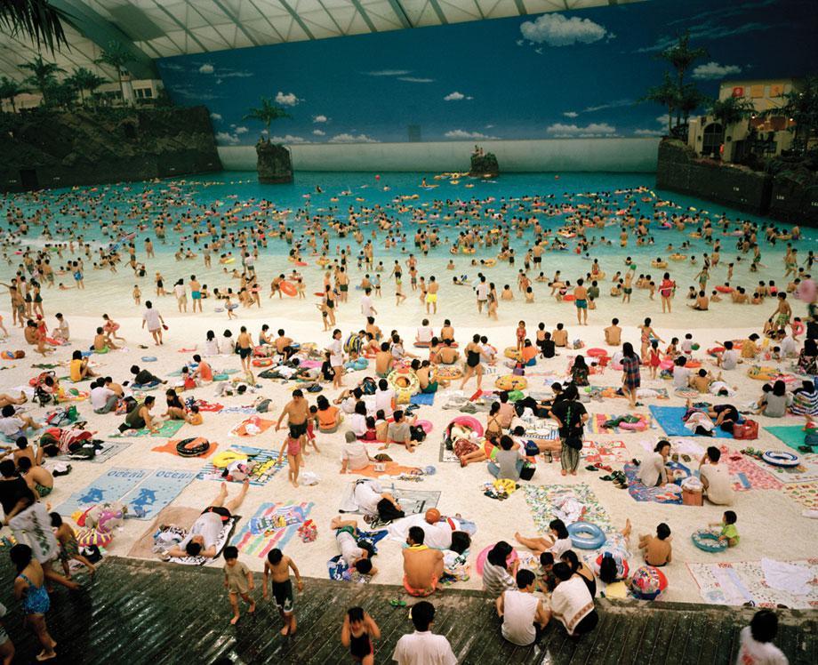 MIYAZAKI, Japan—The Ocean Dome, 1996. From Life's a Beach (Aperture, 2012).