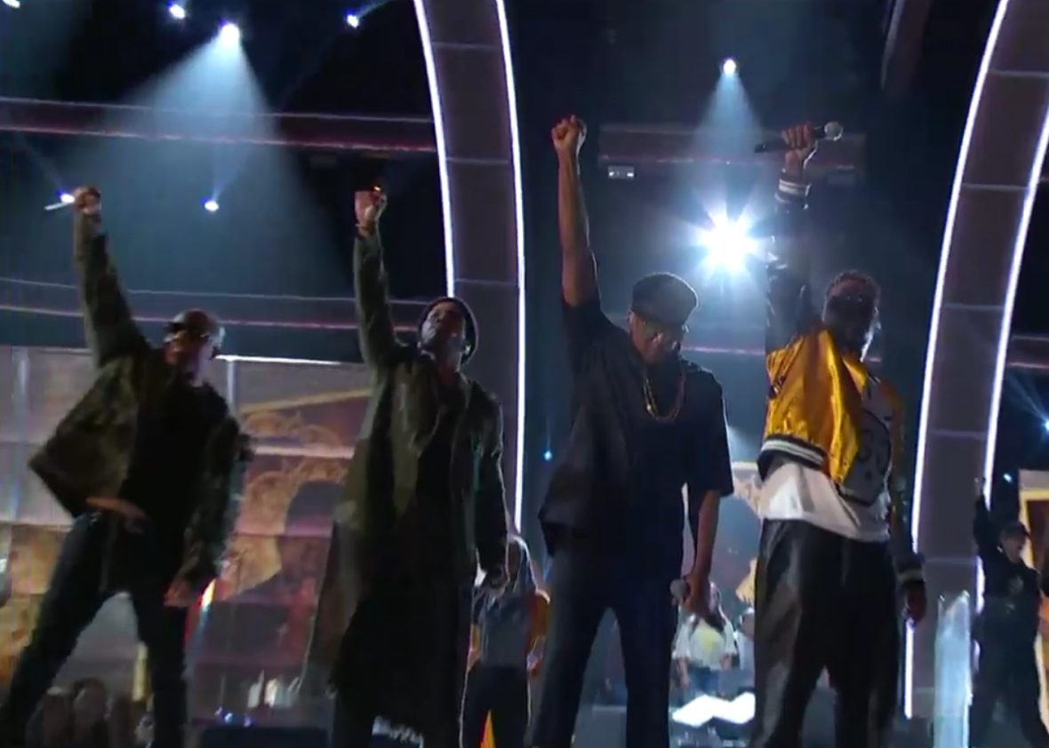 A Tribe Called Quest Showed the Grammys How Political Statements Are Done