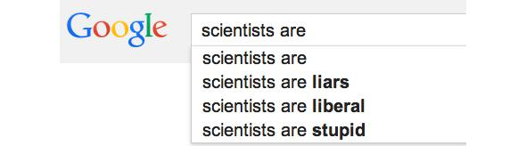 Scientists are...