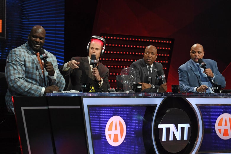 Shaq's gas tank theory proves Inside the NBA is the best