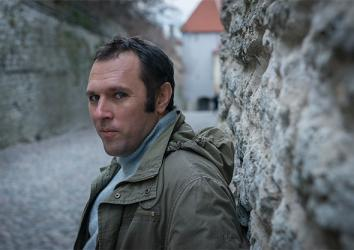 Suren Gazaryan in Tallnin's Old Town, Estonia