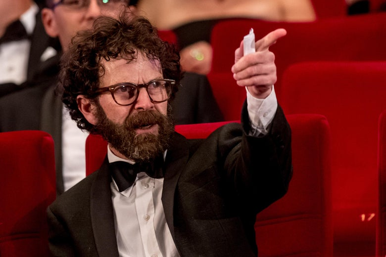 Screenwriter, producer and director Charlie Kaufman attends the closing ceremony of the 51st Karlovy Vary International Film Festival on July 9, 2016 in Karlovy Vary, Czech Republic.