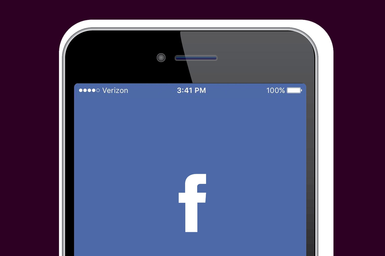 Facebook on mobile.