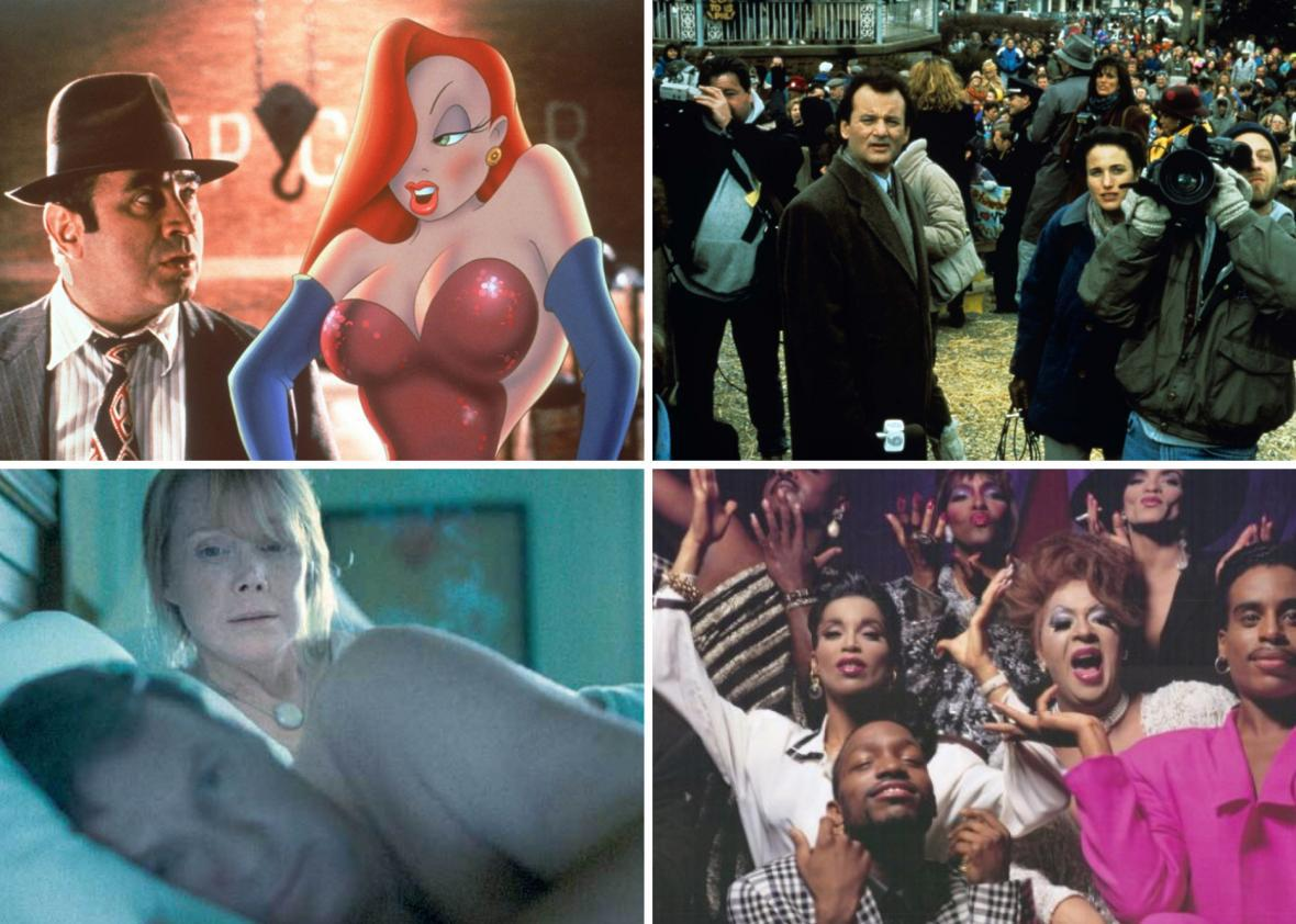 Who Framed Rogger Rabbit, Groundhog Day, In the Bedroom, and Paris Is Burning