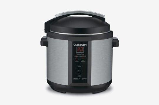 Cuisinart CPC-600AMZ 1000-Watt 6-Quart Electric Pressure Cooker.