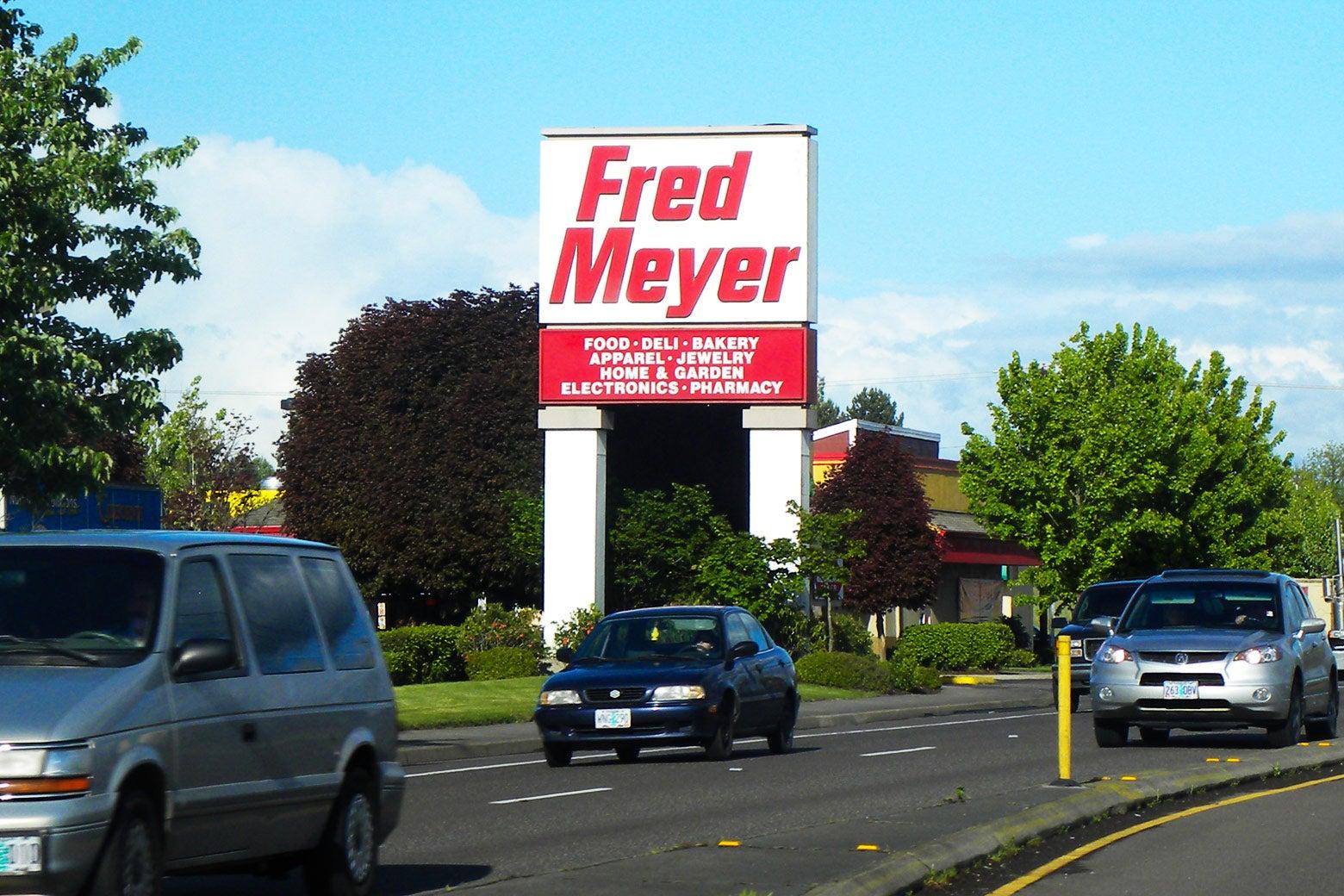 A Fred Meyer store in Hillsboro, Oregon.